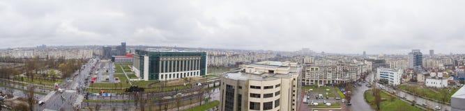 Bukarest-Ansicht Lizenzfreie Stockfotos