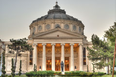 Bukarest-Athenaeum Stockfotografie