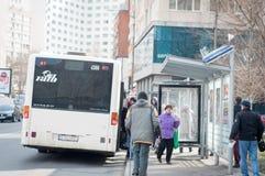 Bukarest-Busbahnhöfe Lizenzfreies Stockfoto