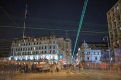 Bukarest - Calea Victoriei Lizenzfreie Stockfotografie