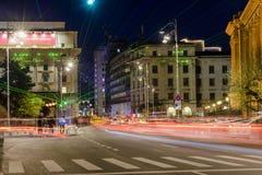 Bukarest - Calea Victoriei Stockfotografie