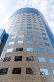 Bukarest-Finanzpiazza-Gebäude Stockfotografie