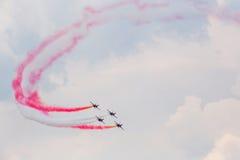 Bukarest Internaţional Airshow 2015 Lizenzfreies Stockfoto