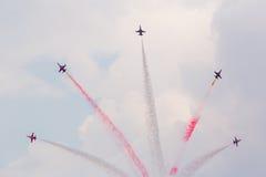 Bukarest Internaţional Airshow 2015 Lizenzfreies Stockbild