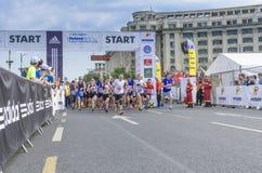 Bukarest-International-Halbmarathon stockbilder