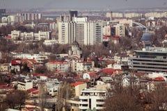 Bukarest-Panorama Stockfoto