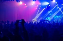 BUKAREST, RUMÄNIEN - 30. NOVEMBER 2014: Subcarpati-Konzert für R Lizenzfreies Stockbild