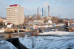Bukarest-Südbezirke lizenzfreie stockbilder