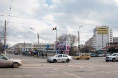 Bukarest-timpuri noi-Bezirk Stockfoto