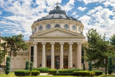 Bukareszt atheneum zdjęcie stock