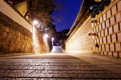Bukchon Hanok historic district in Seoul, South Korea. Stock Photos