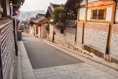 Bukchon Hanok historic district.