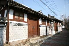 bukchon hanok Korea wioska Fotografia Royalty Free