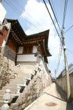 bukchon hanok Korea wioska Zdjęcia Stock