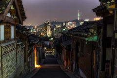 Bukchon Hanok Village Royalty Free Stock Photography