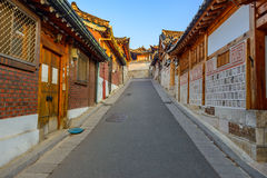 Bukchon Hanok Village,Traditional Korean style architecture in S Royalty Free Stock Image
