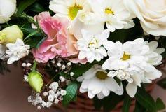 Bukett av blommor arkivfoton