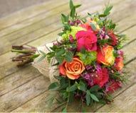 Bukett av blommor Royaltyfri Foto