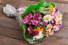 Bukett av blommor Arkivbild