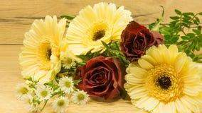 Bukett av blommor arkivfoto