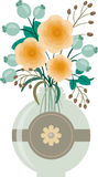 Bukett av blommor. Eps 10 Royaltyfria Foton
