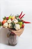 Bukett av frukter, grönsaker och champinjoner Royaltyfria Bilder