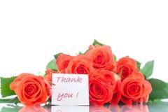 Bukett av härliga röda rosor Royaltyfri Fotografi