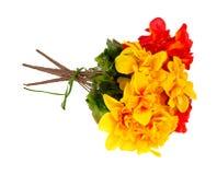 Bukett av konstgjorda blommor Royaltyfri Bild