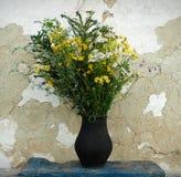 Bukett av lösa blommor Arkivfoto