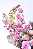 Bukett av många lilor sort av blomman royaltyfria foton