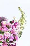 Bukett av många lilor sort av blomman royaltyfria bilder
