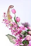 Bukett av många lilor sort av blomman royaltyfri bild