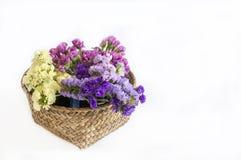 Bukett av omväxlande blommor royaltyfria foton