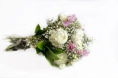Bukett av omväxlande blommor royaltyfri fotografi