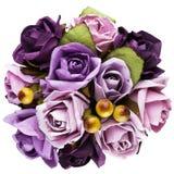 Bukett av pappers- blommor Royaltyfria Bilder