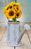 Bukett av solrosor Royaltyfria Bilder