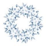 Bukett av vita blommor 15 Arkivbilder