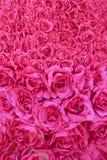 Bukett som göras av röda rosor Arkivbild