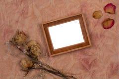 bukett torkade blommor Royaltyfria Bilder