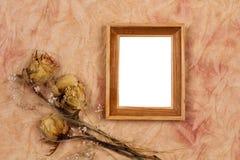 bukett torkade blommor Arkivbild