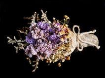 bukett torkade blommor Royaltyfria Foton