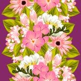 bukettbows figure seamless litet för blommamodell Fotografering för Bildbyråer