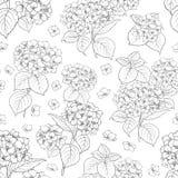 bukettbows figure seamless litet för blommamodell Arkivfoto