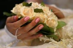 bukettbröllop Royaltyfri Fotografi