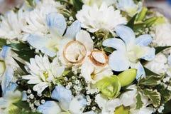 bukettbröllop Fotografering för Bildbyråer