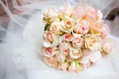 bukettbröllop Arkivfoto