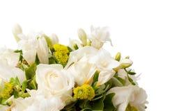 bukettdetalibröllop Royaltyfri Fotografi