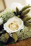 bukettdetaljbröllop arkivfoto