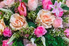 Buketten av blommor, bukett, blommar Fotografering för Bildbyråer
