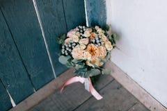 buketten blommar bröllop Royaltyfria Bilder